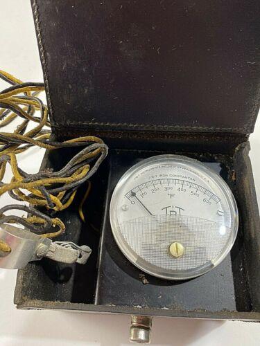 J-B-T Iron Constantan Meter Model23-JP-1 Oven Tester/ Untested Meter/Vintage