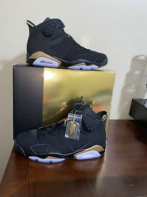 Nike Air Jordan 6 DMP Retro VI Black Metallic Gold CT4954-007