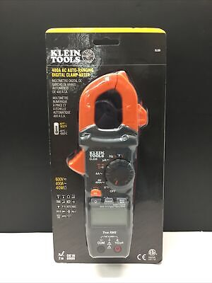 Klein Tools 400 Amp Hvac Digital Clamp Meter Ac Auto-ranging Cl320