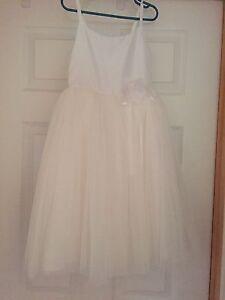 Little girls flower girl or first communion dress