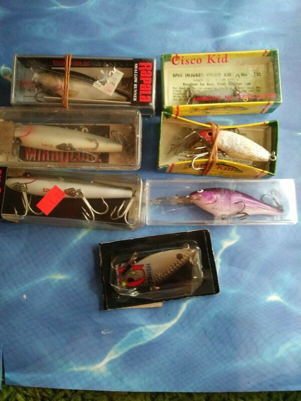 Vintage Fishing Lure Lot