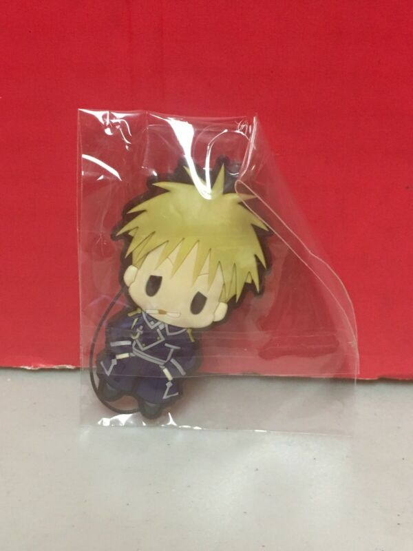 Full Metal Alchemist Jean Havoc Rubber Strap Vol.1 Series Anime Chibi