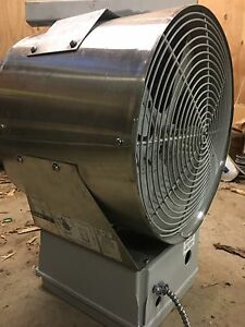 Chromalox forced flow stainless steel heater