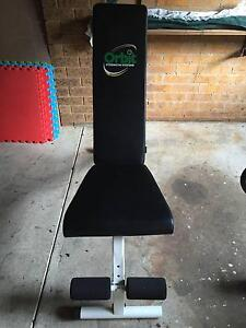 Adjustable Gym Bench Orbit Fitness Systems Cook Belconnen Area Preview