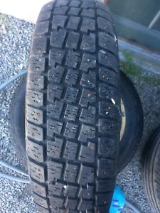 Two 205 75 14 tires