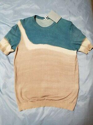 Men's Luxury MALO Shirt - Size 46/Small - 100% Cotton