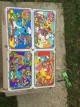 Sesame Street Live placemats x4. Unused 1996 Belconnen Belconnen Area Preview
