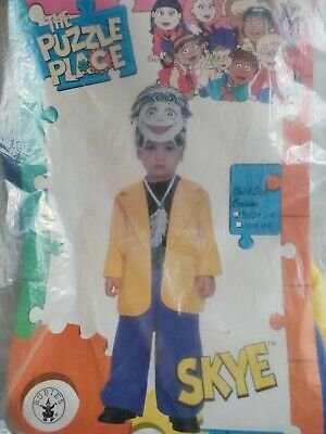 Baby Costumes Sale (SKYE THE PUZZLE PLACE RUBIES Child Costume SIZE Tod 2-4 50 % OFF Final Sale)
