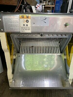 Heavy Duty Commercial Counter Top Bread Slicer Machine