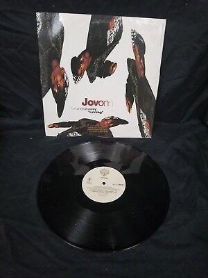 Jovonn Turn Around And Run Away 12  Vinyl Record  33 Rpm