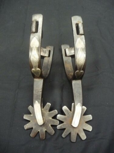 Kelly Brothers Double Mounted Spurs