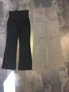 Maternity small dress pant and cotton pant