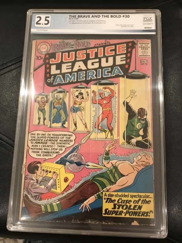 Brave And Bold #30 PGX 2.5, NOT CGC/CBCS