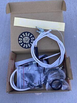 """ODYSSEY BMX G3 Gyro Cable Detangler For 1-1//8/"""" threadless forks WHITE"""