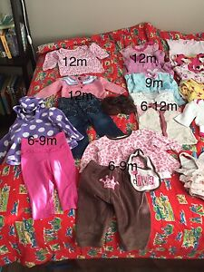 Baby girls clothes 9-18m