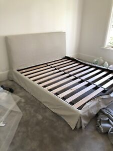 *NEW* JARDAN Leila King size bed replacement COVER ONLY RRP $2,120.00