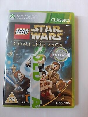 LEGO Star Wars The Complete Saga Microsoft Xbox 360 CLASSICS - brand NEW sealed