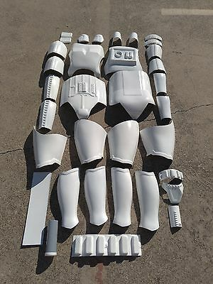 Star Wars Stormtroopers Costumes (STAR WARS STORM TROOPER COSTUME ARMOR LIFE SIZE MOVIE)
