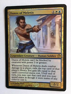 Mtg Magic the Gathering Theros Daxos of Meletis FOIL for sale  Shipping to South Africa
