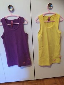 2 camisoles medium JOSHUA PERETS 2/4$