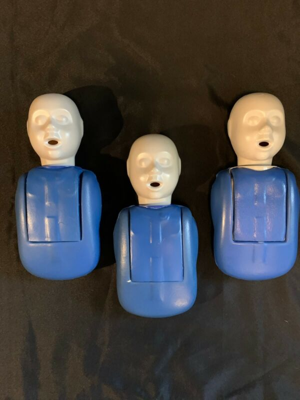 LOT 3 CPR Infant Manikin IAFF AHA EMS CPR AED ACLS ARC NSC Red Cross Aid PALS