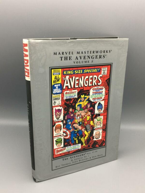 Thomas, Roy; Marvel Masterworks: The Avengers, Vol. 5; Marvel Comics; Hardcover
