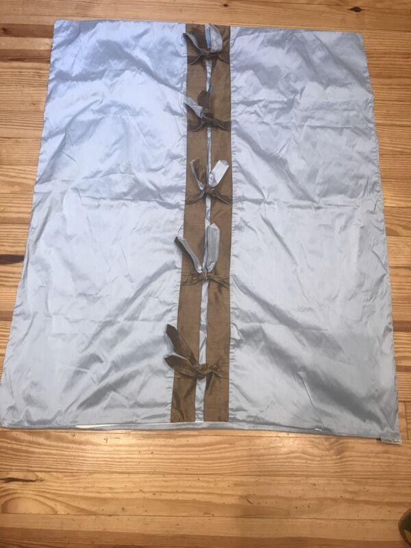 Lulla Smith Silk Crib Duvet Cover EUC!!!