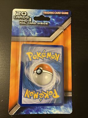 RARE Mystery Pokemon Pack of 20 Cards with 1 Foil Card Factory Sealed CHARIZARD?