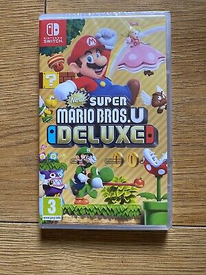 New Super Mario Bros. U Deluxe Edition Nintendo Switch - Brand New Free Postage,