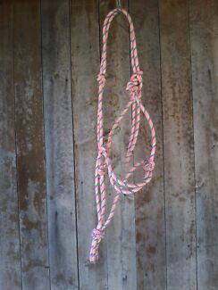 Rope halter with lead rope - rainbow,  roma, size full Lorn Maitland Area Preview