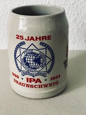 International Police Association IPA  .25 Jahre IPA  1959 -1984  Braunschweig .