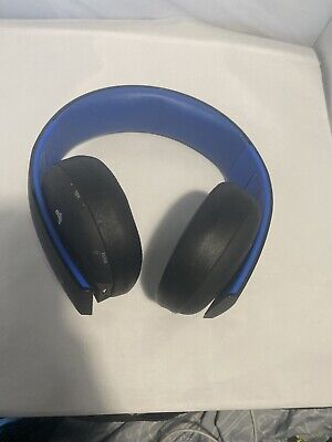 Sony Playstation 4 PS4 Gold Wireless Stereo Headset Headphones UNTESTED
