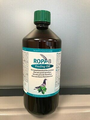 Ropa-B Feeding Oil -  for improved health & performance of pigeons - 1000ml