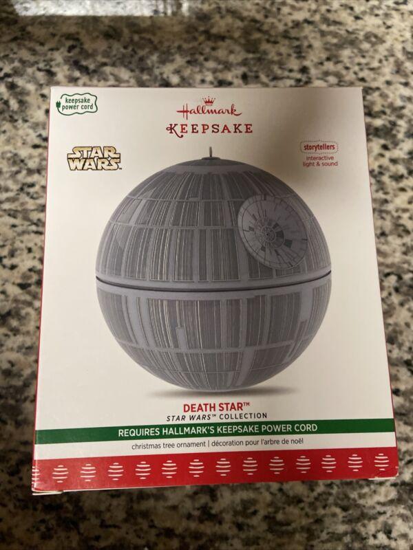 Hallmark Keepsake Ornament 2017 Star Wars Storytellers Death Star light sound