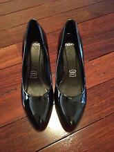 Novo Guava patent BLACK heels size 8 BRAND NEW Palmyra Melville Area Preview