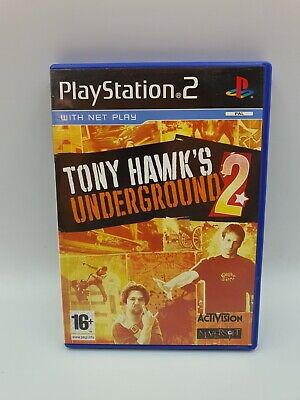 Tony Hawk's Underground 2 (Playstation 2 | Ps2 ) PEGI 16+ | Manual |Tested