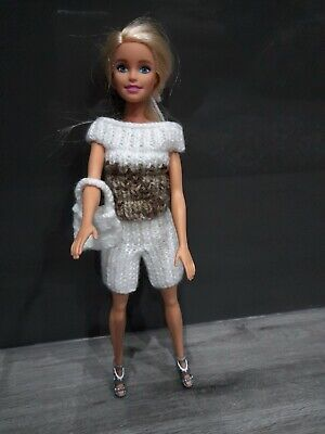 Barbie Hand Knitted Outfit