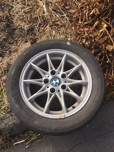 "BMW 16"" Alloys. Cheaper than steel for winter"