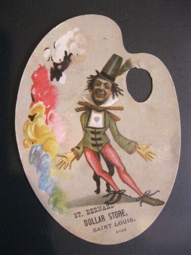 Victorian Trade Card Chas. A. Fowle St. Bernard Dollar Store Americana 50