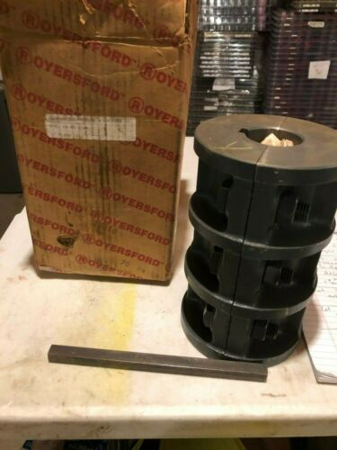 """Royersford 60-08-0200 2"""" Rigid Clamp Coupling New"""