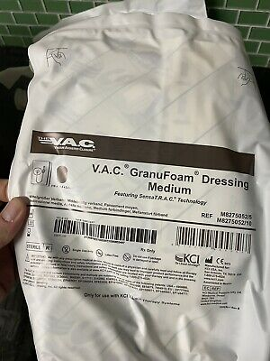 8 V.a.c. Granufoam Dressing Medium For Wound Vac Plus 2 300 Ml Canisters