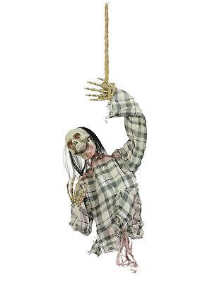 Halloween Figur Hanging Max Motor+Sound Schocker Grusel - Halloween Grusel Sound