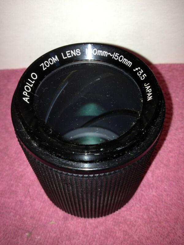 PERFECT    APOLLO CAMERA ZOOM LENS 100 mm --  150 mm f3.5