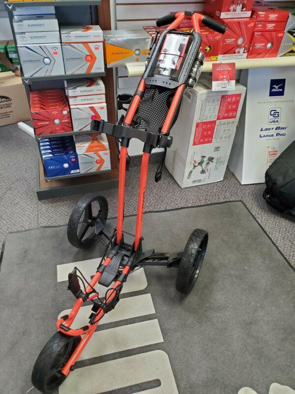 Sun Mountain Pathfinder 3 orange Push Cart