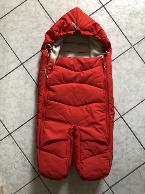 Stokke Xplory Foot Muff Red