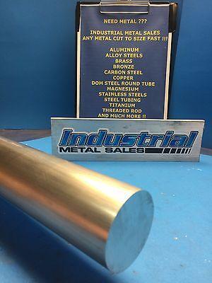 7075 T651 Aluminum Round Bar 1-12dia X 12-long--1.500 7075 Diameter Rod