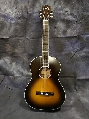 Vintage Style ' O' Size Acoustic Guitar - Wide Fretboard - Blues Picker