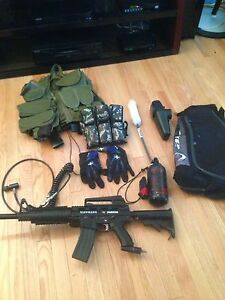 paintball gear set