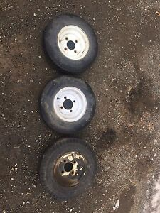 Trailer rims and tires!