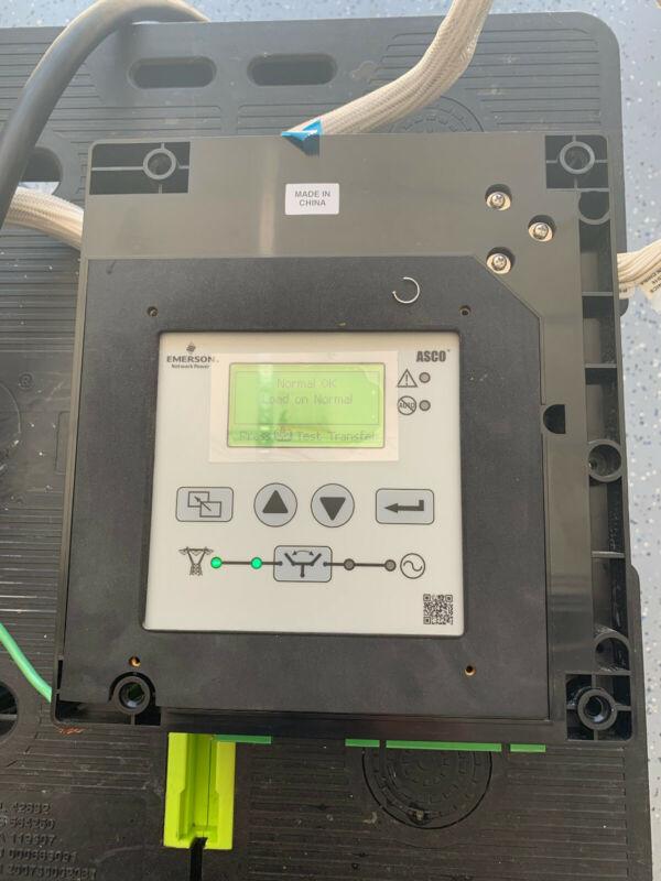 Asco 150AMP 480VAC 4 Pole Transfer Switch no enclosure USED